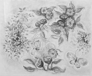 Bloemen en vlinders - Aafke van der Dussen